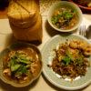 大好きなヤムチンガイは大変手間のかかるお料理でした、タイ料理教室